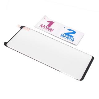 Folija za zastitu ekrana GLASS 3D MINI FULL GLUE NT za Samsung G965F Galaxy S9 Plus zakrivljena crna