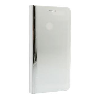 Futrola BI FOLD CLEAR VIEW za Huawei Honor 7A/Y6 Prime 2018 srebrna