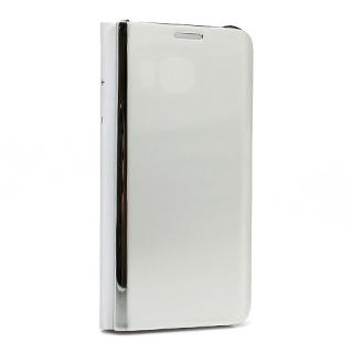 Futrola BI FOLD CLEAR VIEW za Samsung G925 Galaxy S6 Edge srebrna