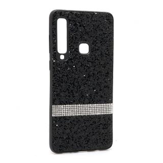 Futrola Glittering Stripe za Samsung A920F Galaxy A9 2018 crna