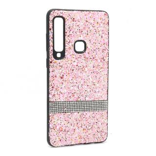 Futrola Glittering Stripe za Samsung A920F Galaxy A9 2018 roze