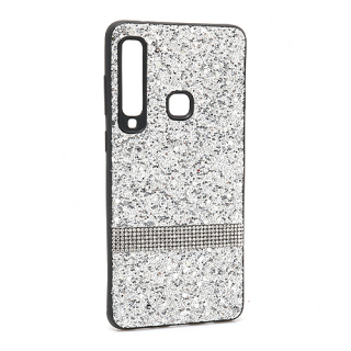 Futrola Glittering Stripe za Samsung A920F Galaxy A9 2018 srebrna