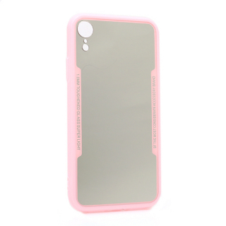 Futrola BACK MIRROR za Iphone XR roze