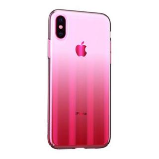 Futrola BASEUS Aurora za Iphone XS Max roze