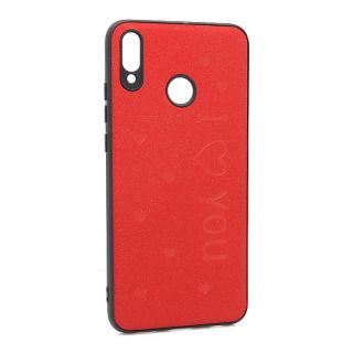 Futrola I LOVE YOU za Huawei Honor 8X crvena