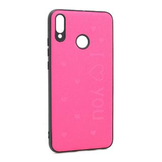 Futrola I LOVE YOU za Huawei Honor 8X pink