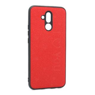 Futrola I LOVE YOU za Huawei Mate 20 Lite crvena