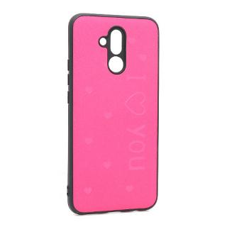 Futrola I LOVE YOU za Huawei Mate 20 Lite pink