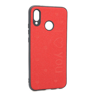 Futrola I LOVE YOU za Huawei P20 Lite crvena
