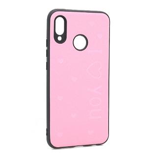 Futrola I LOVE YOU za Huawei P20 Lite roze
