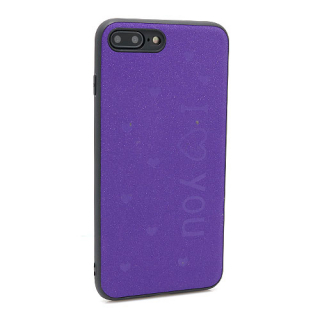 Futrola I LOVE YOU za Iphone 7 Plus/ 8 Plus ljubicasta