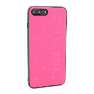Futrola I LOVE YOU za Iphone 7 Plus/ 8 Plus pink