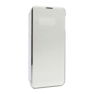 Futrola BI FOLD CLEAR VIEW za Samsung G973F Galaxy S10 srebrna