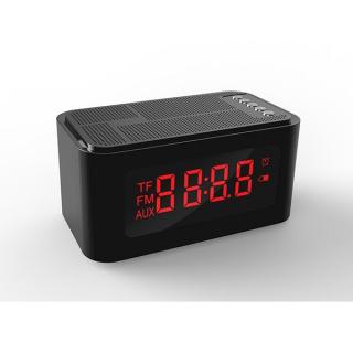 Xwave BT zvucnik FM Radio Alarm crni