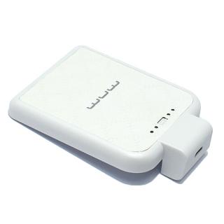 Baterija Back up WUW-B02 microUSB (2200mAh) bela