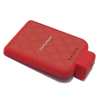 Baterija Back up WUW-B02 microUSB (2200mAh) crvena