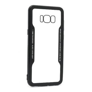 Futrola BACK CLEAR za Samsung G955F Galaxy S8 Plus crna