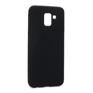 Futrola silikon DURABLE za Samsung J600F Galaxy J6 2018 mat crna