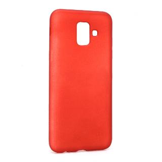 Futrola silikon DURABLE za Samsung J600F Galaxy J6 2018 mat crvena