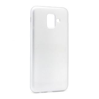 Futrola silikon DURABLE za Samsung J600F Galaxy J6 2018 mat srebrna