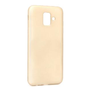 Futrola silikon DURABLE za Samsung J600F Galaxy J6 2018 mat zlatna