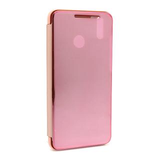 Futrola BI FOLD CLEAR VIEW za Huawei Honor 8X roze
