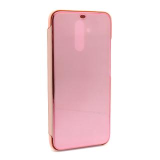 Futrola BI FOLD CLEAR VIEW za Huawei Mate 20 Lite roze