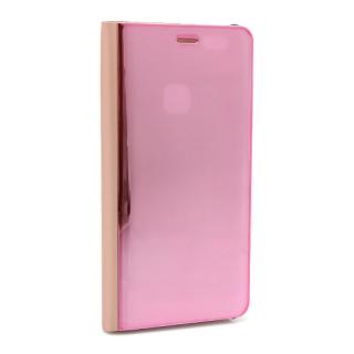 Futrola BI FOLD CLEAR VIEW za Huawei P10 Lite roze