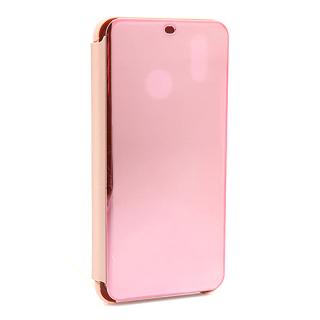 Futrola BI FOLD CLEAR VIEW za Huawei P20 Lite roze