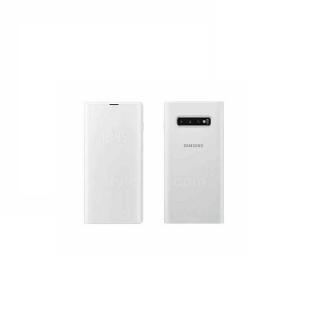 Samsung LED View futrola sa preklopom S10+ bela
