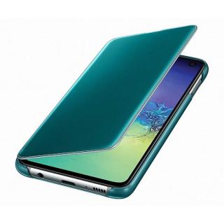 Samsung Clear View stojeca futrola S10 Light zelena