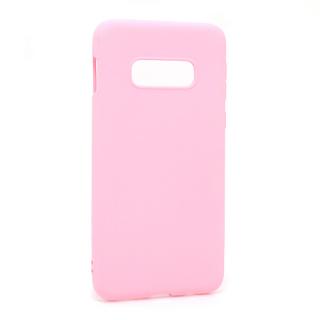 Futrola GENTLE COLOR za Samsung G970F Galaxy S10e roze