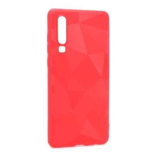 Futrola silikon 3D SHAPE za Huawei P30 crvena