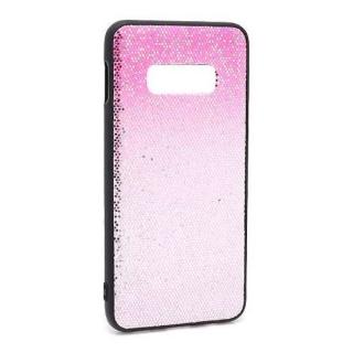 Futrola Glittering New za Samsung G973F Galaxy S10 pink-srebrna