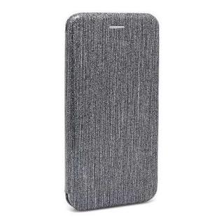 Futrola BI FOLD Ihave Glitter za Huawei Honor 7A/Y6 Prime 2018 srebrna