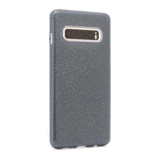 Futrola silikon GLITTER SHOW YOURSELF za Samsung G973F galaxy S10 crna