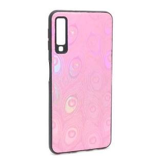 Futrola Shiny Feather za Samsung A750F Galaxy A7 2018 roze