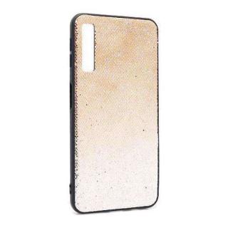 Futrola Glittering New za Samsung A750F Galaxy A7 2018 zlatno-srebrna