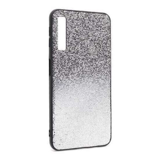 Futrola Glittering New za Samsung A750F Galaxy A7 2018 crno-srebrna