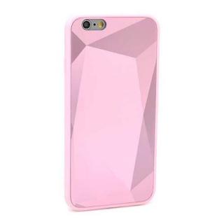 Futrola CRYSTAL COLOR za Iphone 6G/6S roze