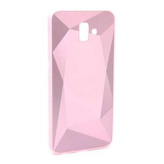 Futrola CRYSTAL COLOR za Samsung J610F Galaxy J6 Plus roze