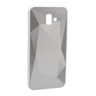 Futrola CRYSTAL COLOR za Samsung J610F Galaxy J6 Plus srebrna