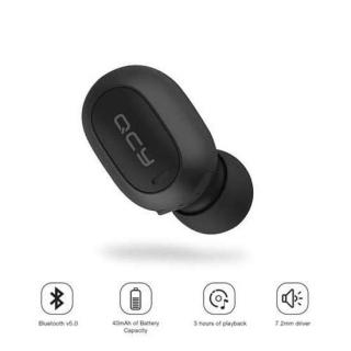 Bluetooth slusalice QCY Mini2 crne