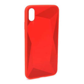 Futrola CRYSTAL COLOR za Iphone XS Max crvena