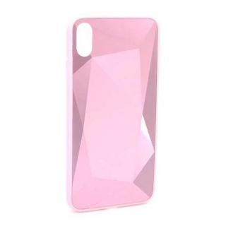 Futrola CRYSTAL COLOR za Iphone XS Max roze