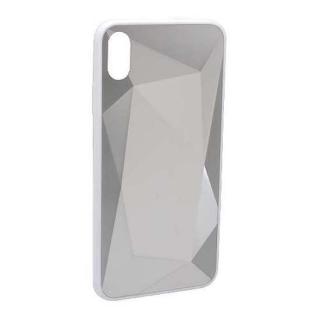 Futrola CRYSTAL COLOR za Iphone XS Max srebrna