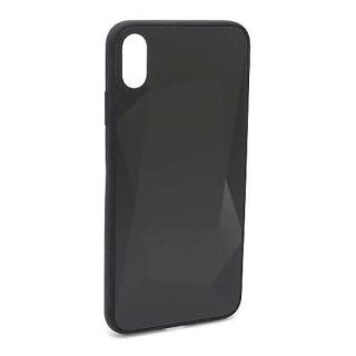 Futrola CRYSTAL COLOR za Iphone XS Max crna