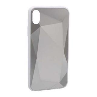 Futrola CRYSTAL COLOR za Iphone XR srebrna