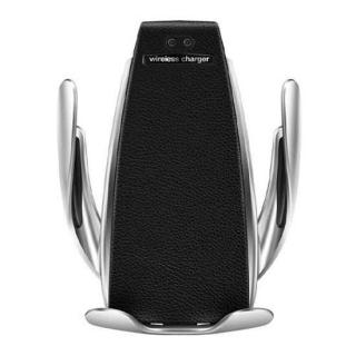 Drzac za mobilni telefon i WiFi punjac S5 Smart charger crni (ventilacija)