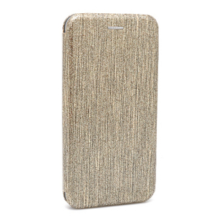 Futrola BI FOLD Ihave Glitter za Samsung A105F Galaxy A10 zlatna